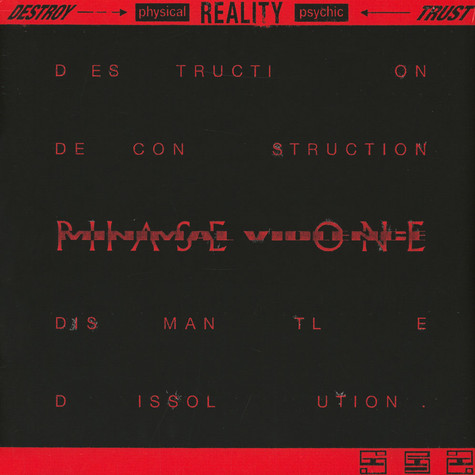 Minimal Violence - Destroy ---> [Physical] Reality [Psychic] <--- Trust Phase One