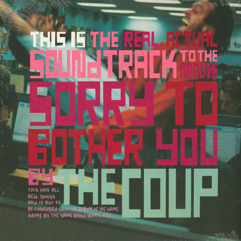 Coup, The - OST This Is The Real, Actual Soundtrack To The Movie Sorry To Bother You By The Coup White Edition