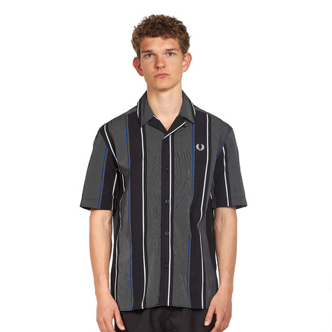 Fred Perry - Vertical Stripe Revere Collar Shirt