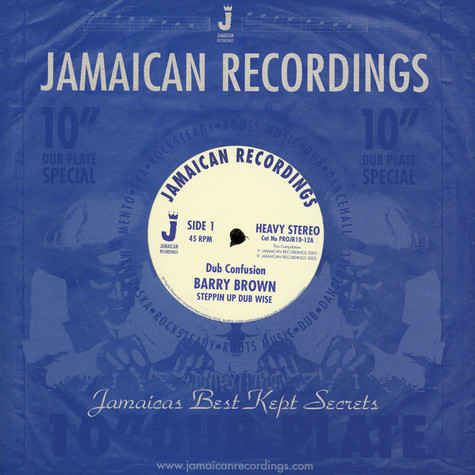 Barry Brown - Dub Confusion / God Father Dub