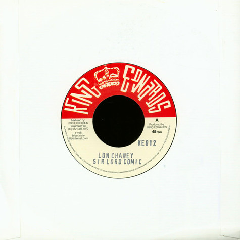 Skatalites / Upsetters - Lon Chaney With Sir Lord Comic / Country Girl