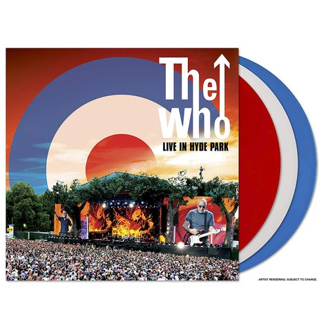 Who, The - Live In Hyde Park, London 2015 Colored Vinyl Edition