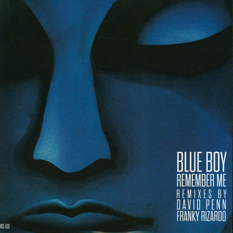 Blue Boy - Remember Me Remixes