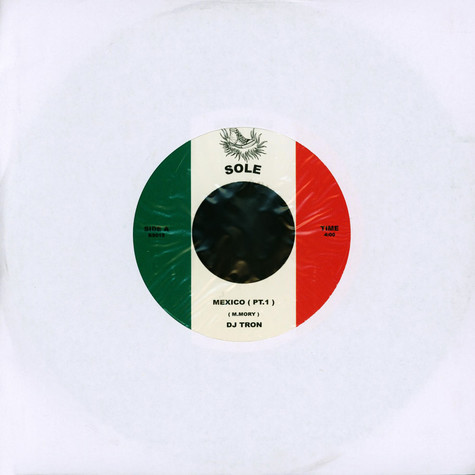 DJ Tron - Mexico Black Vinyl Edition