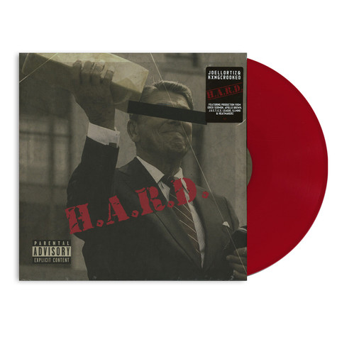 Joell Ortiz & Kxng Crooked - H.A.R.D. HHV Exclusive Red Vinyl Edition