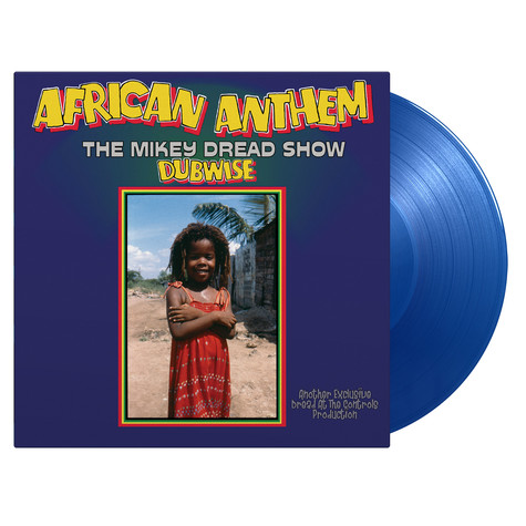 Mikey Dread - Africa Anthem The Mikey Dread Show Dubwise Limited Numbered Blue Vinyl Edition