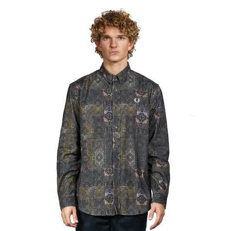 Fred Perry - Printed Cord Shirt