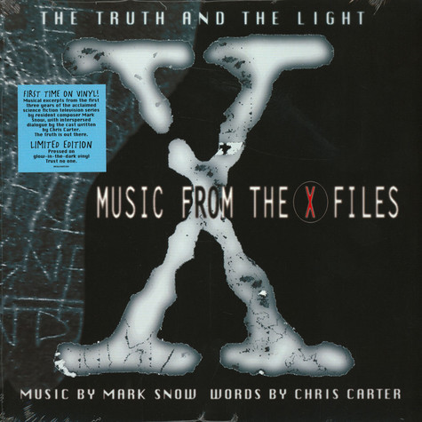 Mark Snow - OST The Truth And The Light: Music From The X-Files Green Glow In The Dark Record Store Day 2020 Edition