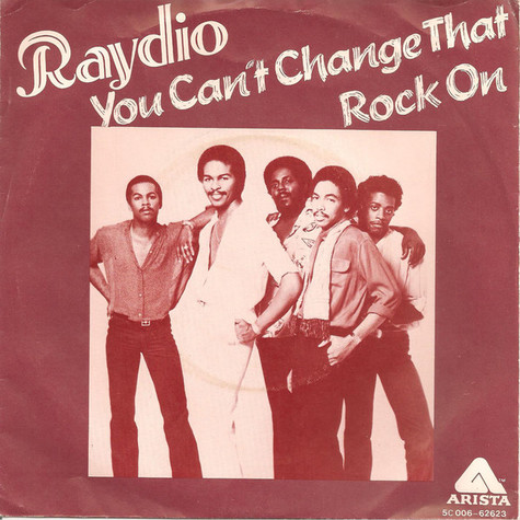 Raydio - You Can't Change That