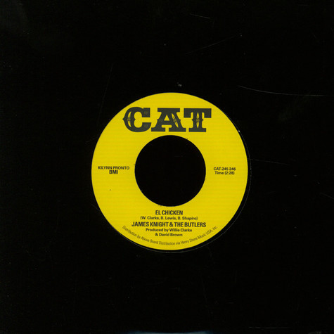 James Knight & The Butlers - Save Me / El Chicken