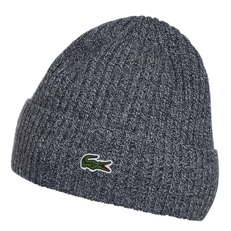 Lacoste - Embroidered Green Crocodile Beanie