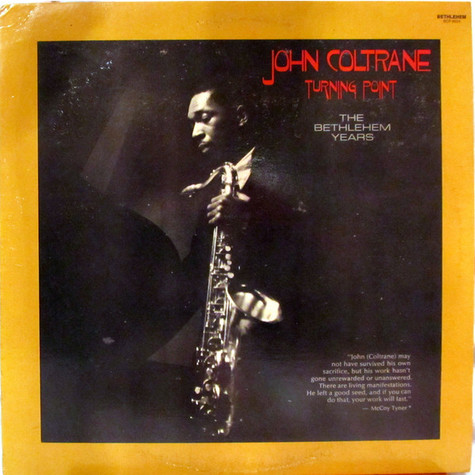 John Coltrane - Turning Point - The Bethlehem Years