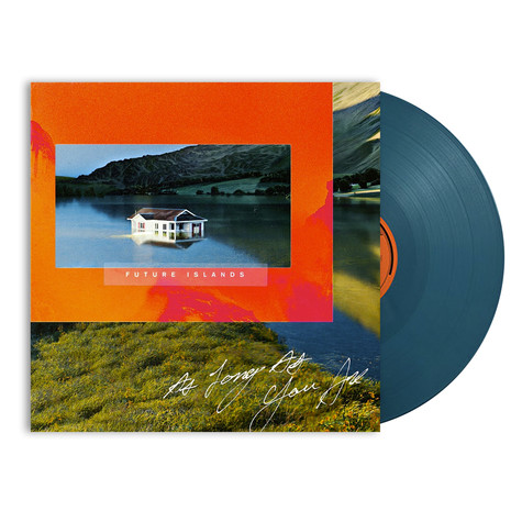 Future Islands - As Long As You Are Petrol Blue Vinyl Edition