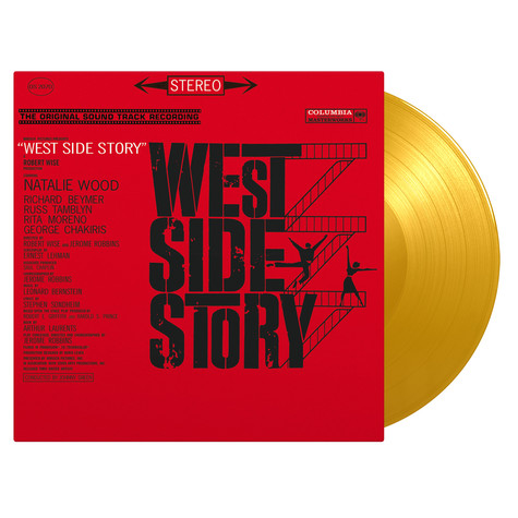 V.A. - OST West Side Story Limited Numbered Yellow Vinyl Edition