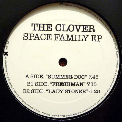 Clover, The - Space Family EP