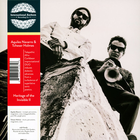 Aquiles Navarro & Tcheser Holmes - Heritage Of The Invisible II