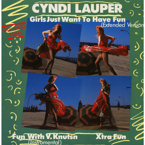 Cyndi Lauper - Girls Just Want To Have Fun (Extended Version)