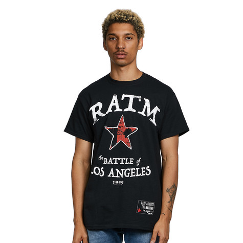 Rage Against The Machine - Battle Star T-Shirt