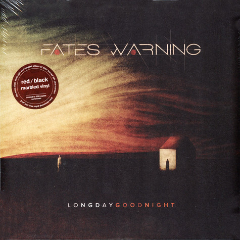 Fates Warning - Long Day Good Night Red & Black Marbled Vinyl Edition