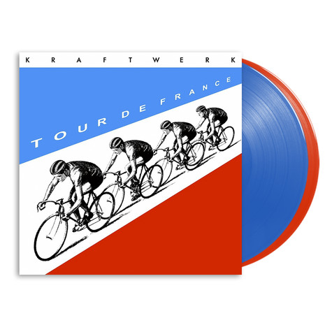 Kraftwerk - Tour De France Translucent Blue & Red Vinyl Edition