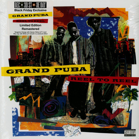 Grand Puba - Reel To Reel Colored Black Friday Record Store Day Edition
