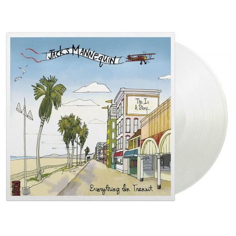 Jack's Mannequin - Everything In Transit Clear Vinyl Edition