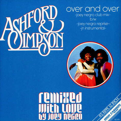 Ashford & Simpson - Over And Over Joey Negro Remixes