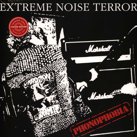 Extreme Noise Terror - Phonophobia Red Vinyl Edition