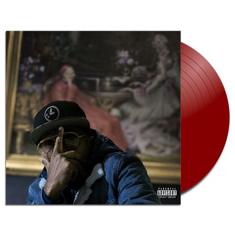 Elzhi - 7 Times Down 8 Times Up HHV Exclusive Ruby Red Vinyl Edition