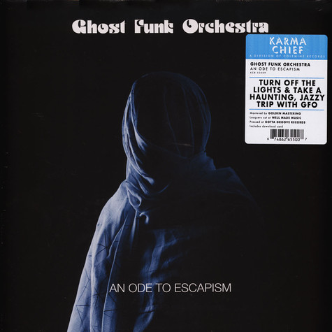 Ghost Funk Orchestra - An Ode To Escapism Black Vinyl Edition