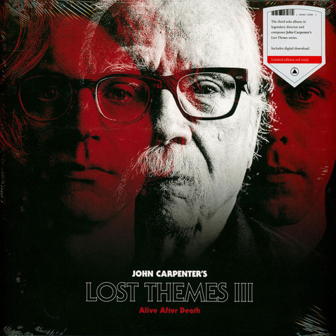 John Carpenter - Lost Themes III - Alive After Death Red Vinyl Edition