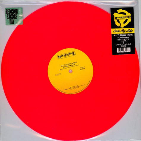 Corey Taylor / Dead Boys - All This And More (Side By Side) Black Friday Record Store Day 2020 Edition