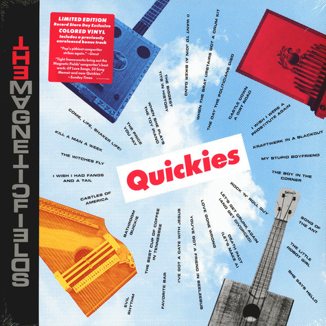 Magnetic Fields - Quickies Black Friday Record Store Day 2020 Edition