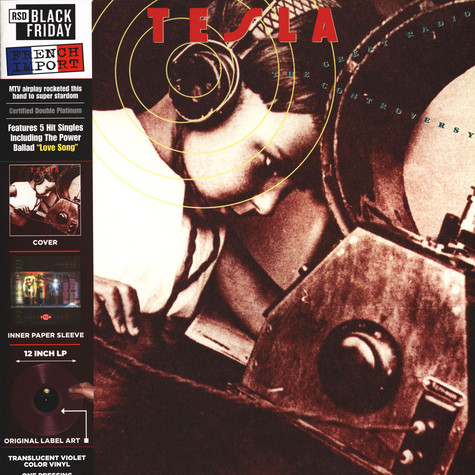 Tesla - The Great Radio Controversy Black Friday Record Store Day 2020 Edition