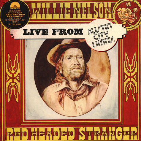 Willie Nelson - Live At Austin City Limits 1976 Black Friday Record Store Day 2020 Edition