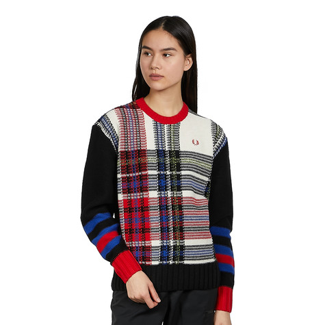Fred Perry - Reverse Tartan Jumper