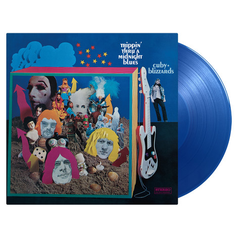 Cuby & Blizzards - Trippin' Thru' A Midnight Blues Transparent Blue Vinyl Edition