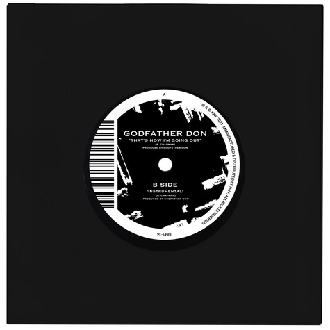 Godfather Don - That's How I'm Going Out / Instrumental