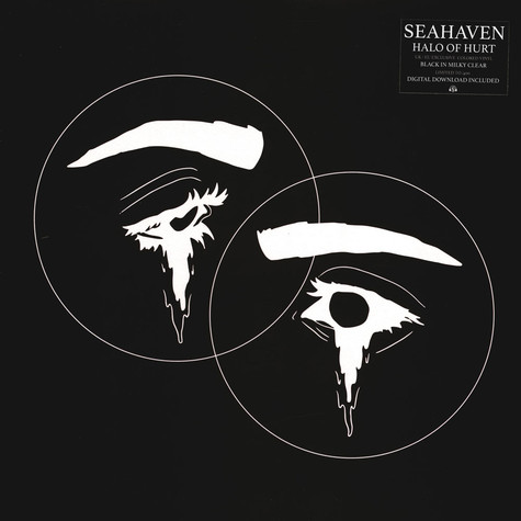 Seahaven - Halo Of Hurst Black In Milky Clear Vinyl Edition