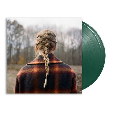 Taylor Swift - Evermore Deluxe Dark Green Edition