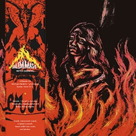 Salem Mass - Witch Burning Red Vinyl Edition