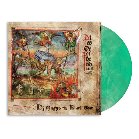 DJ Muggs The Black Goat - Dies Occidendum HHV Exclusive Green And White Galaxy Vinyl Edition