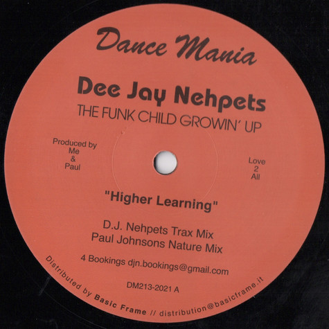 Dee Jay Nehpets - The Funk Child Growin' Up