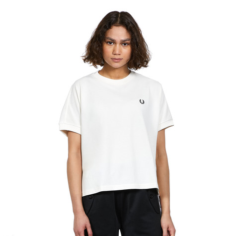 Fred Perry - Boxy Pique T-Shirt
