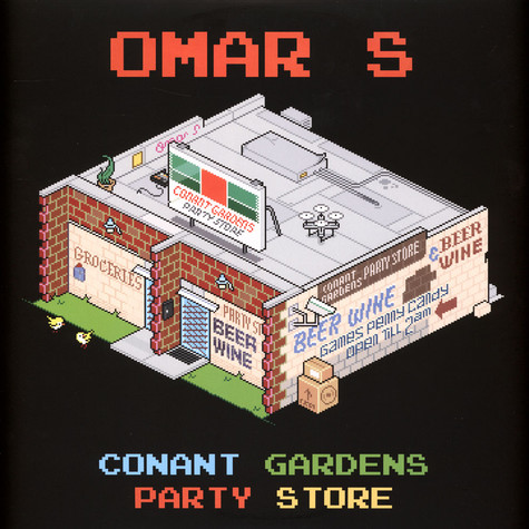 """Omar S - Conant Gardens Party Store 12"""" (OST Record Packer)"""