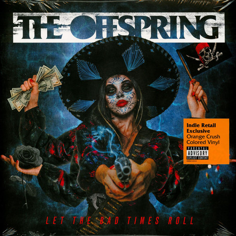 Offspring, The - Let The Bad Times Roll Indie Exclusive Orange Crush Vinyl Edition