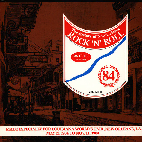 V.A. - Ace Records Presents The History of New Orleans Rock 'N' Roll: Volume III