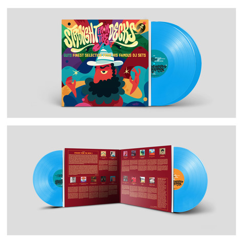 Guts - Straight From The Decks 2 HHV Exclusive Blue Vinyl Edition