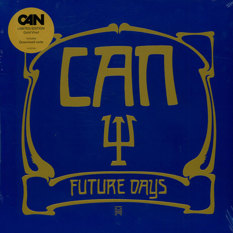 Can - Future Days Gold Vinyl Edition