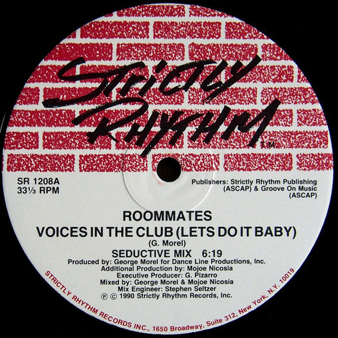 Roommates - Voices In The Club (Let's Do It Baby)